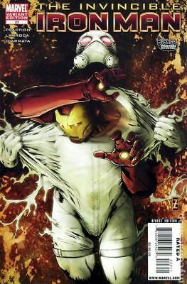Invincible Iron Man (2008) #23B VF