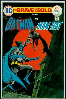 DC Comics The BRAVE And The BOLD #119 BATMAN And MAN-BAT FN- 5.5