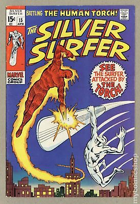 Silver Surfer (1968 1st Series) #15 FN- 5.5