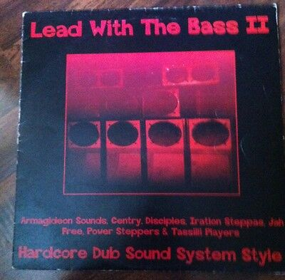 LEAD WITH THE BASS II • Hardcore Dub Sound System Style • IRATION STEPPAS • LP •