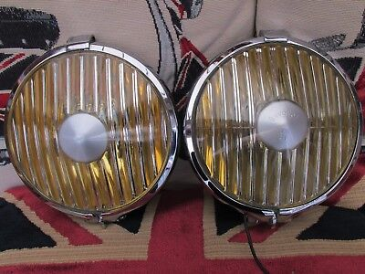 Pair Raydyot Dl  Spot Lamps/ Lights   Classic Car  Mod Scooter  Ulma Vigano