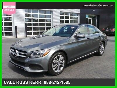 2017 Mercedes-Benz C-Class C 300 2017 C 300 Used Certified Turbo 2L I4 16V Automatic Rear Wheel Drive Sedan