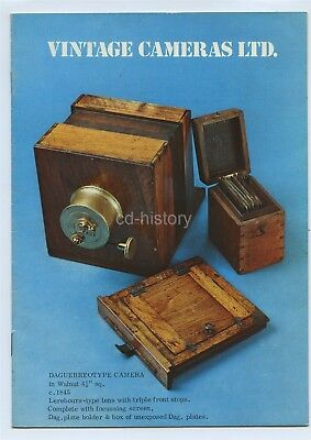 Vintage Cameras Ltd. 1976 Catalogue - 14 Pages