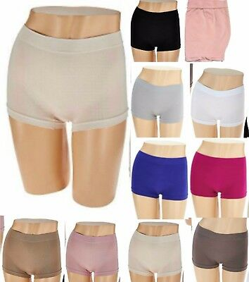 Breezies~(1) Seamless Boyshorts Panties Briefs~A272948~Choice of Sizes & Colors