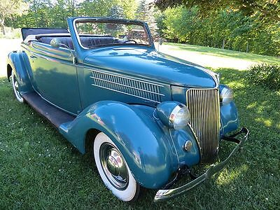 1936 Ford Cabriolet Convertible SURVIVOR 1936 Ford Cabriolet Convertible SURVIVOR
