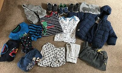 HUGE Job Lot Of Boys Clothes Age 6-9 Months, 9-12 & 12-18 months From Next Etc