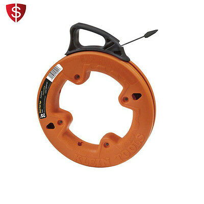 Wire Fish Tape Electrical Cable Electric Rod Tool Finder Steel Pulling Case