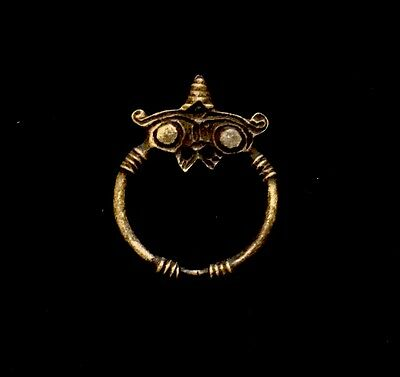 "Ancient Viking Zoomorphic Owl Brooch - Bronze                 ""EXTREMELY RARE"""