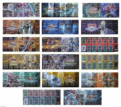 Yu-Gi-Oh Yugioh TCG - 1X Random Paper Playmat from Starter or Structure Deck