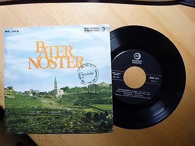 "SG 7"" Pater Noster (4 Songs) Edizioni Paoline"