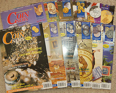 Coin News 2006 Complete Year 12 Issues