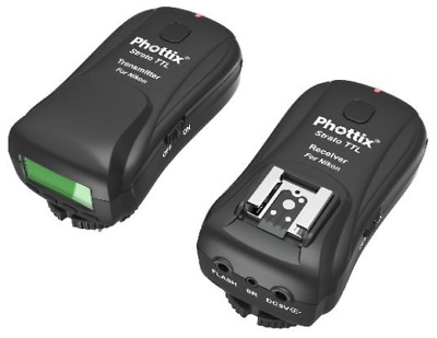 Phottix Strato TTL Wireless Flash Trigger Set: NIKON