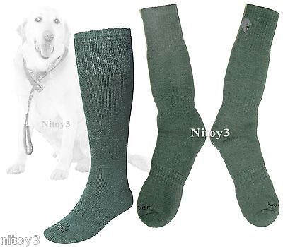 Lorpen All Weather Hunting Over Calf Socks-Midweight 2-Pack Large Men