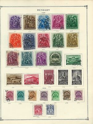 Hungary - Mint / Used Stamps Collection (1938-1949)