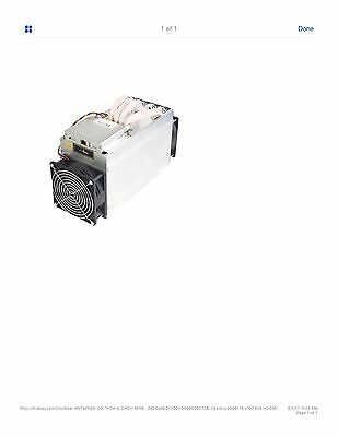 ANTIMINER   D3 1200W 15GH/S expected arrival 21-30  WITH PSU
