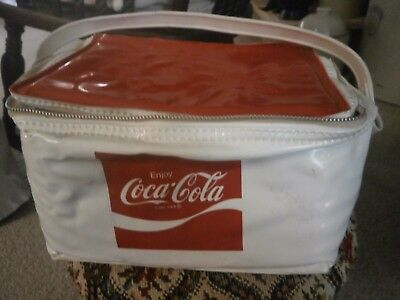 Vintage Coca Cola Insulated Plastic Lunchbox