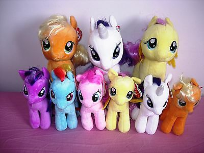 TY MY LITTLE PONY BEANIES and BUDDIES **read below**