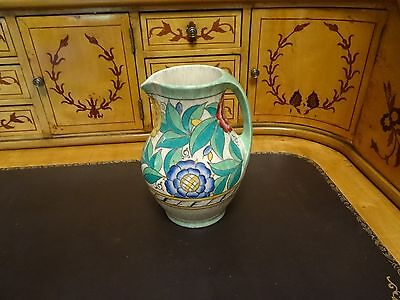 Charlotte Rhead ?  Crown Ducal Art Deco Fully Decorated Jug