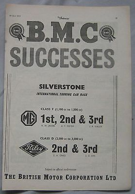1955 BMC Original advert No.1