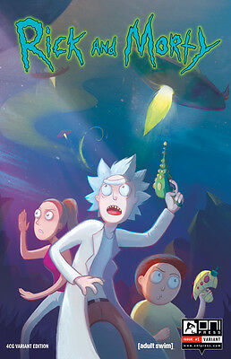 Rick And Morty #1 First Printing - Four Color Grails Mail Order Variant- Htf