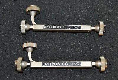 Baytron 3-08-300/20 Waveguide Directional Coupler WR8, 90-140GHz, Lot of TWO