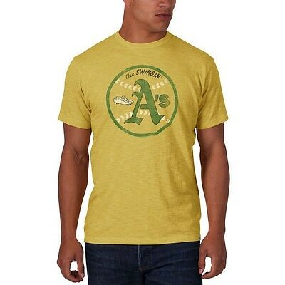47 Brand Official Mlb Oakland Athletics Scrum T-Shirt Large