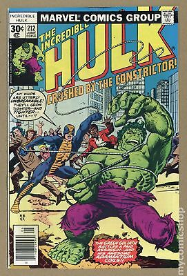 Incredible Hulk (1962-1999 1st Series) #212 VF- 7.5