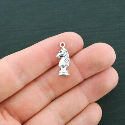 5 x Tibetan Silver QUEEN CHESS PIECE HARRY POTTER 3D 27mm Charms Pendants Beads