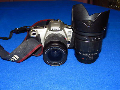 Canon EOS Rebel 2000 35mm SLR Film Camera with (2) Lenses included!!