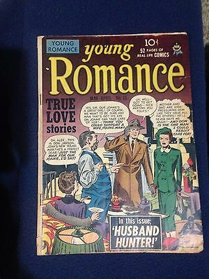 young romance #10  1949  Simon + Kirby cover