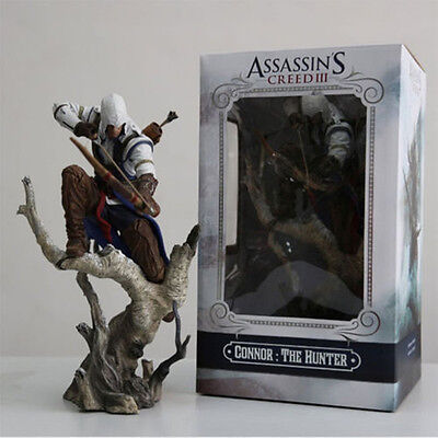 "10.2"" The assassins creed 3 Connor hunter PVC archery action figure statue model"