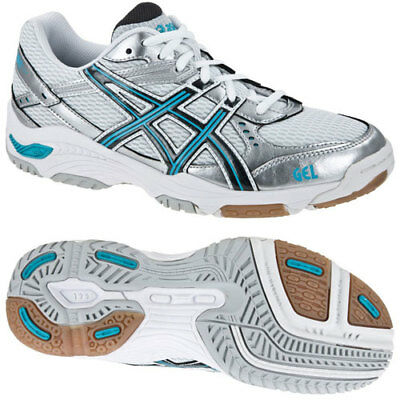 B155N Womens asics Gel Task Volleyball Handball indoor Court Shoes Trainers 8.5