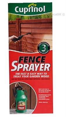 Cuprinol Manual Pump Fence Sprayer Paint Garden Shed BRAND NEW
