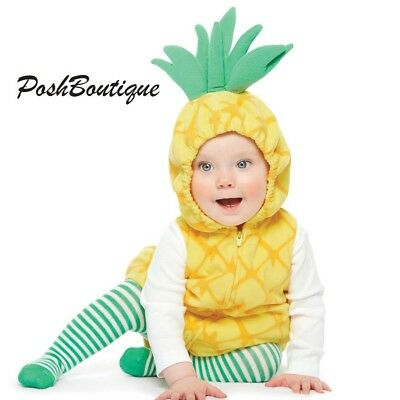 NWT Carter's Baby Infant Pineapple Halloween Costume 3 6 9 12 18 24 Months RARE!