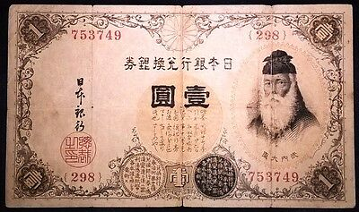 Japanese old currency, 1-Yen (753749)