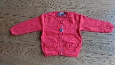 Gilet fille 23 mois JEAN BOURGET - comme neuf