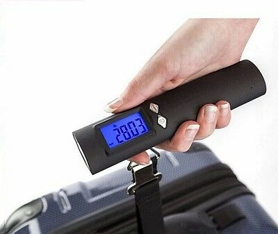 Luggage scale 3 In 1 Torch Power Bank USB chargeable 50 Kg digit screen