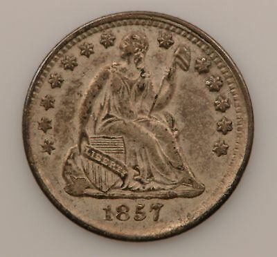 1857 Liberty Seated Half Dime *G48