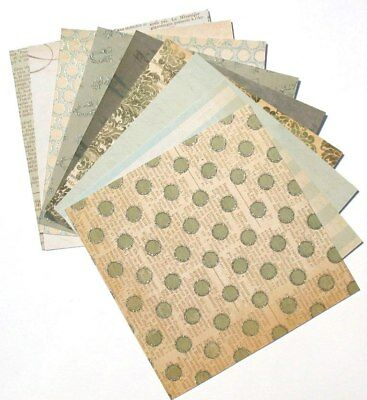 Portobello Road - 6x6 MME My Minds Eye Lost & Found Scrapbooking Paper Pack