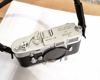 Leica M3 35mm Rangefinder Film Camera, Double Stroke, Nice working condition
