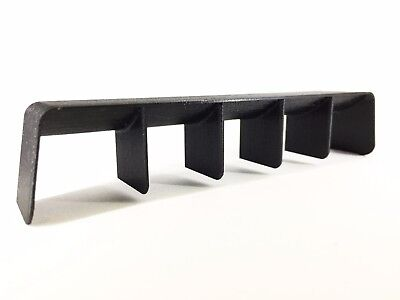 RC Drift Car 1:10 Scale Rear Diffuser in Black (not intercooler or spoiler)