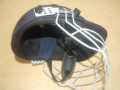 Used Blue Readers Cricket Helmet with Visor