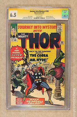 Thor (1962-1996 1st Series Journey Into Mystery) #105 CGC 6.5 SS 1062879001