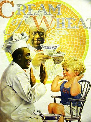 Brewer CREAM OF WHEAT Ad SOME LIKE IT HOT 1924 Matted