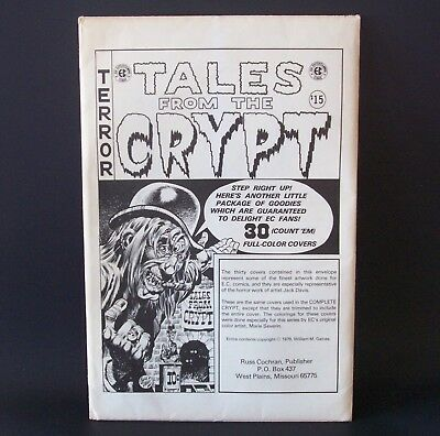 Russ Cochran TALES FROM THE CRYPT 1979 Complete Covers EC Portfolio