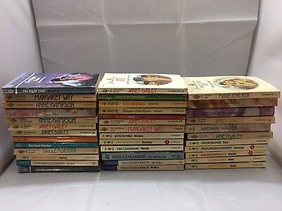 Vintage Mix Lot of 37 Harlequin Romance Harlequin Presents Harlequin Historical