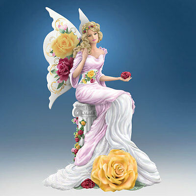 Magical Beauty Angel Figurine - Old Country Rose  Bradford Exchange