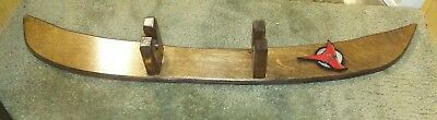 klingon inspired prop small sword stand made from wood 72517-2