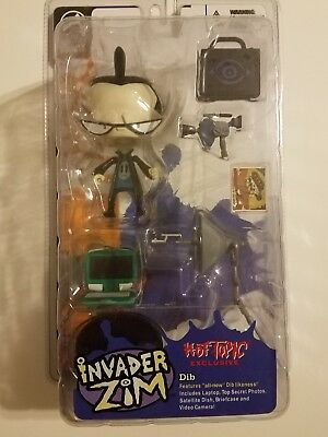 Invader Zim Dib Hot Topic exclusive rare Palisades figure mint condition