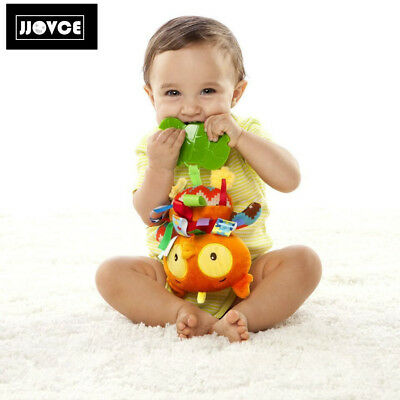 Taggies wHoo Loves You Owl Baby Teething Toy